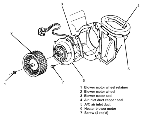 Blower Motor Diagram