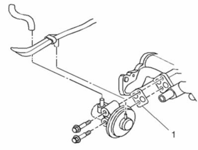 1997 Geo Metro EGR valve location diagram