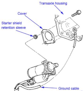 2000 chrysler LHS starter