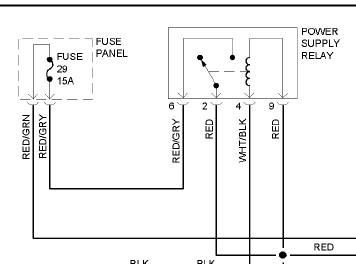 2000 VW passat Fuse 29 wiring diagram