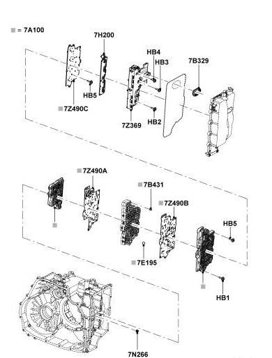 2008 Ford Edge Transmission Valve Body Diagram
