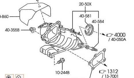 exhaust diagram
