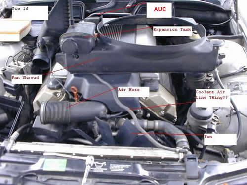 BMW AUC Sensor Removed