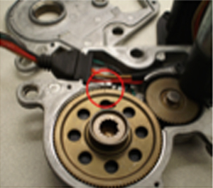shift motor encoder