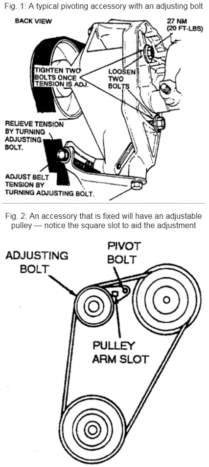 Tensioner diagram