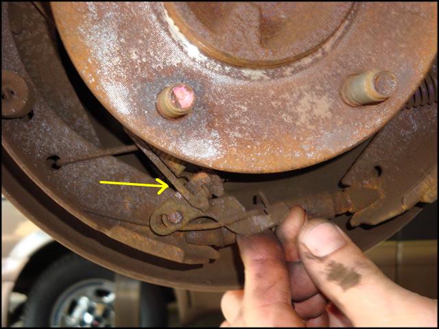 Brake Drum Adjuster Cable