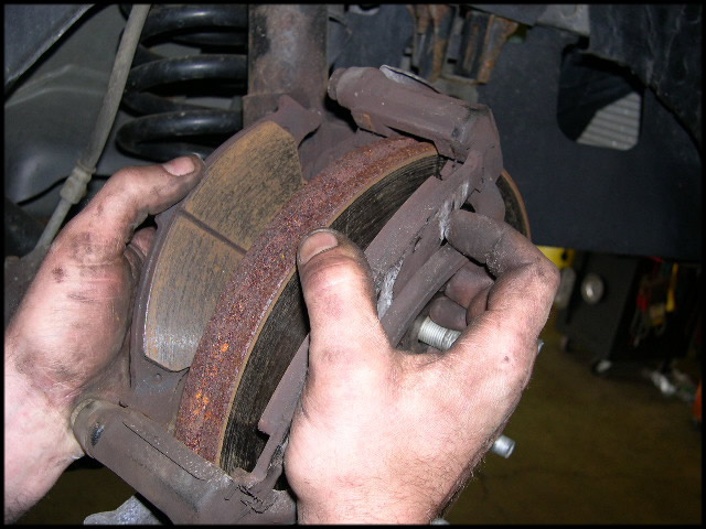 how to replace front brake pads on a 2003 polaris sportsman html autos weblog. Black Bedroom Furniture Sets. Home Design Ideas