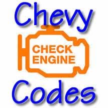 Chevy Trouble Codes