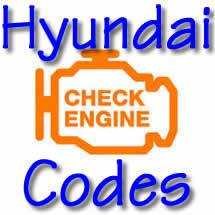 Hyundai OBD II Trouble Codes - FreeAutoMechanic