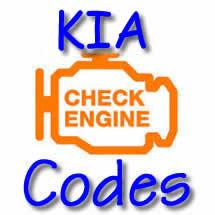 KIA Check Engine light Codes without a Scan Tool