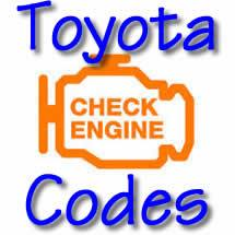 Toyota Trouble Codes