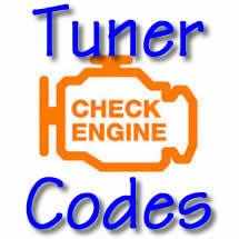Tuner Trouble Codes