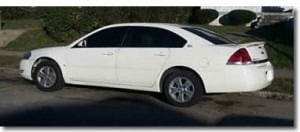 2007 Chevy Malibu - white