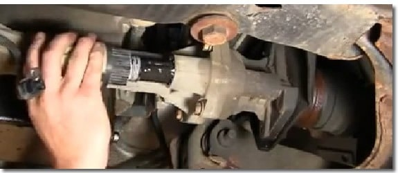 4 wheel drive actuator chevy colorado 2004