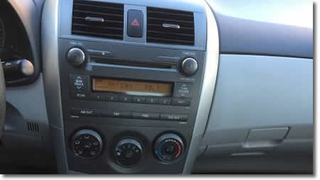 CD Player 2011 Toyota Corolla