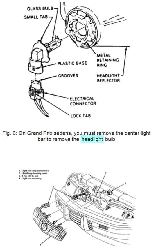 1995 pontiac grand prix diagram  pontiac  wiring diagrams