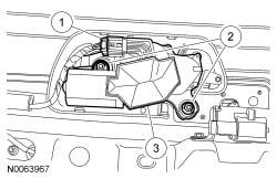 rear wiper motor 2011 Ford Escape