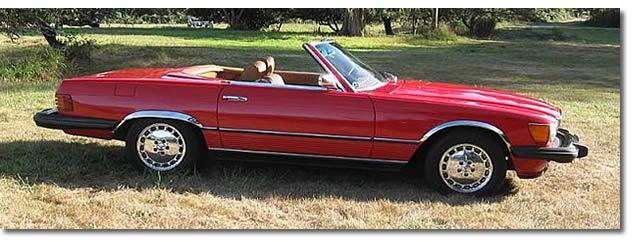 1974 Mercedes 450L