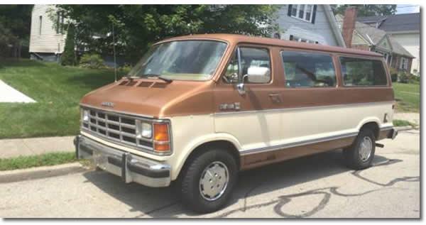 1987 Dodge Ram Van