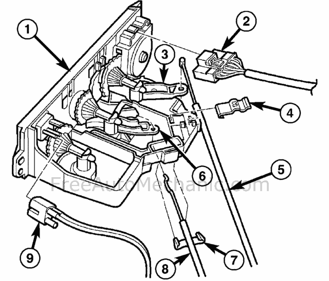 chrysler transaxle control module location