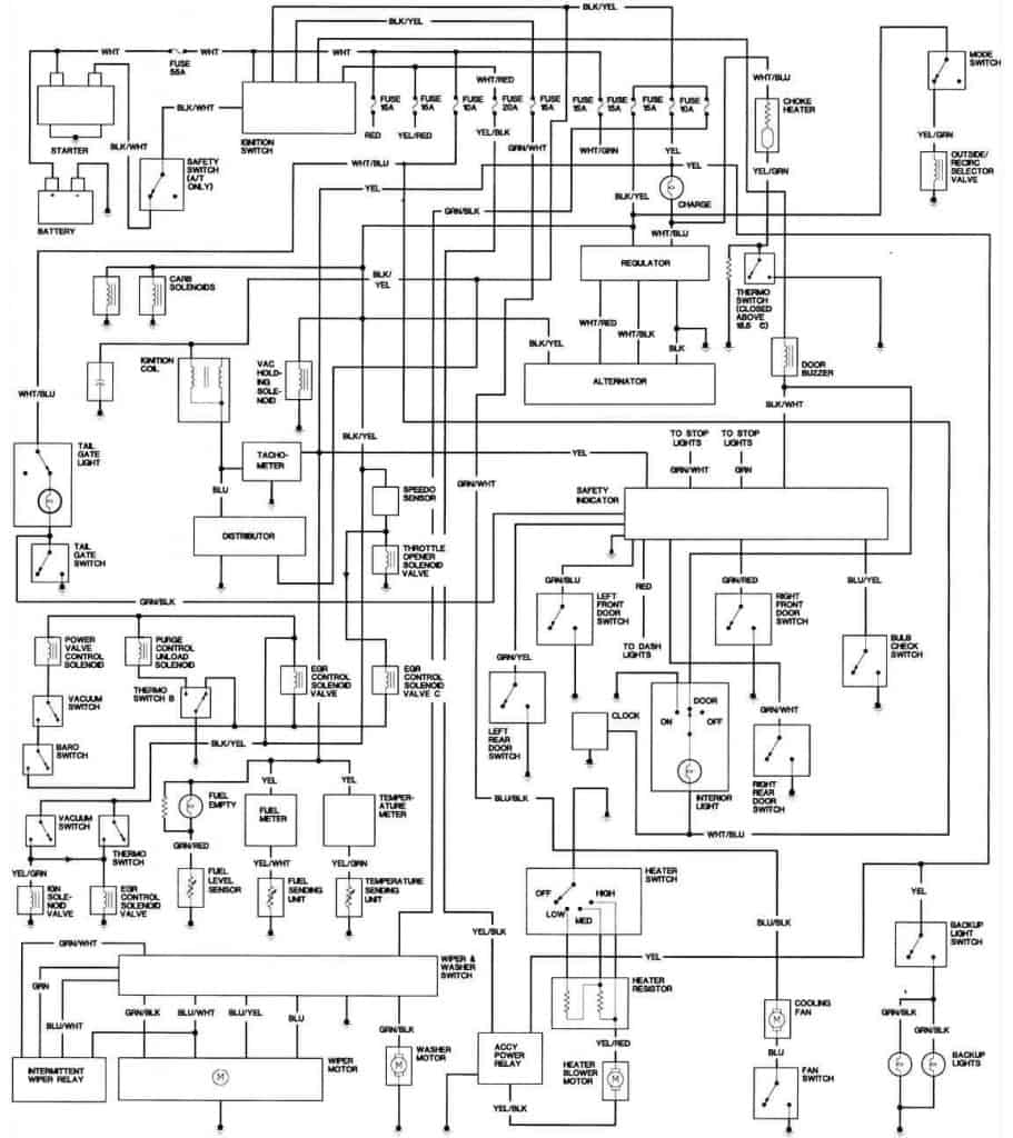 1981 Honda Accord California Engine Wiring Diagram