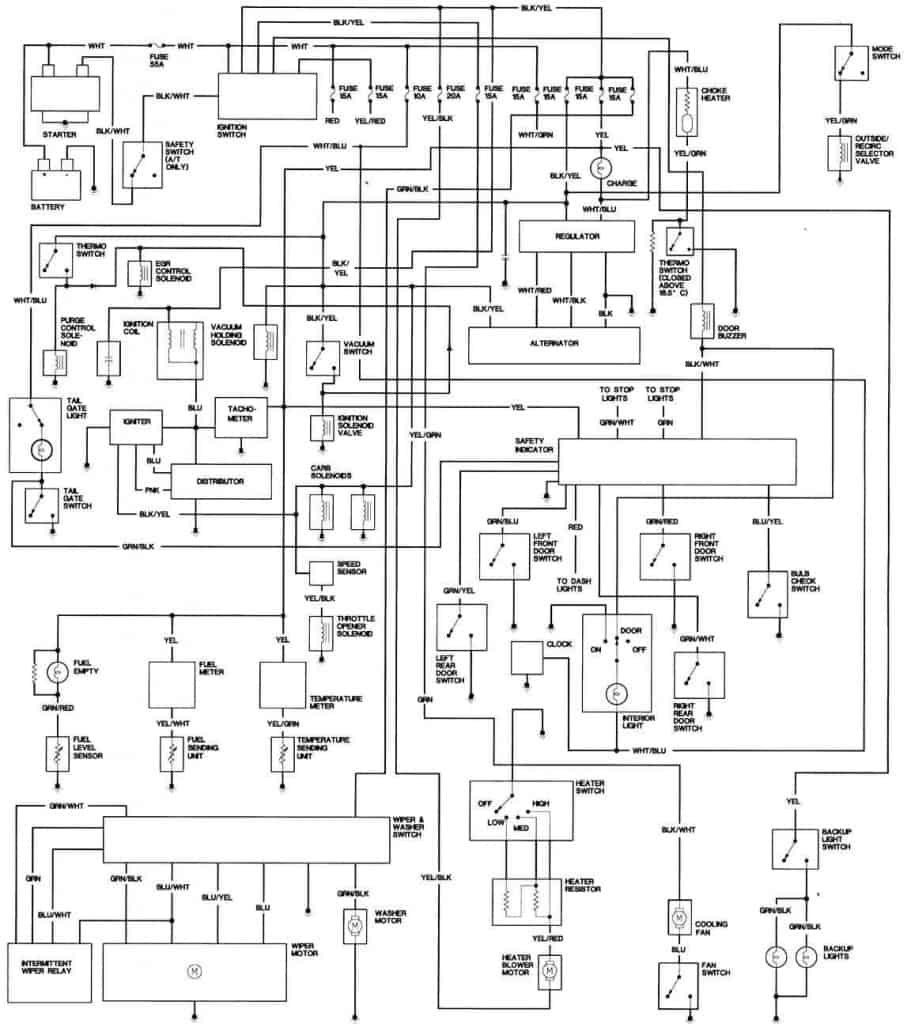 1981 honda accord engine wiring diagram freeautomechanic advice rh freeautomechanic com 2007 honda accord schematics 2000 honda accord schematics