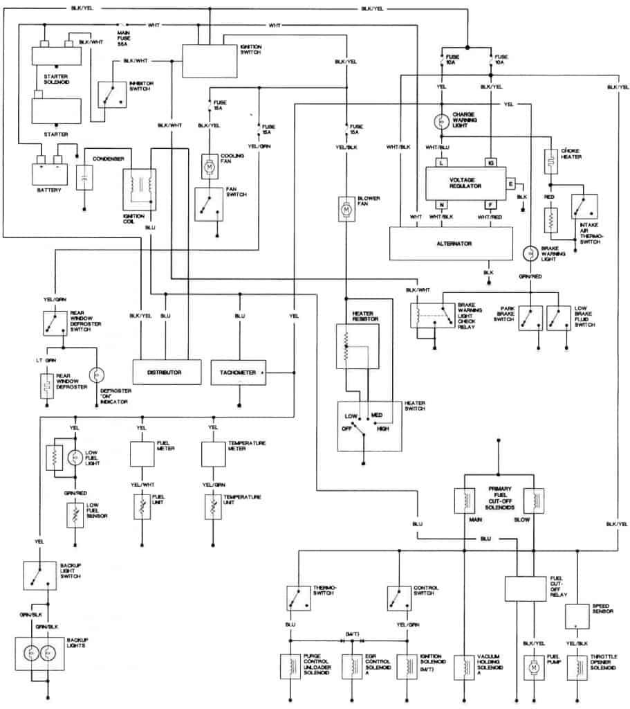 1981 Honda Prelude Engine Wiring Diagram
