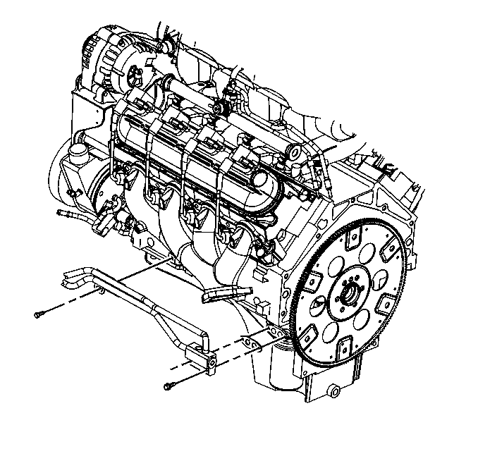 Engine Oil Cooler Diagram 2000 Chevy Silverado 6.0L