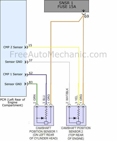 Incredible Code P0340 2009 Hyundai Sonata 2 4 Gls Freeautomechanic Advice Wiring Cloud Hisonuggs Outletorg