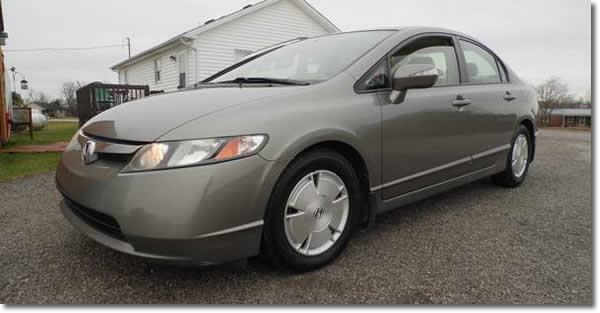 IMA Light 2008 Honda Civic Hybrid