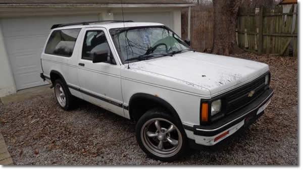 1991 Chevy S10 Blazer