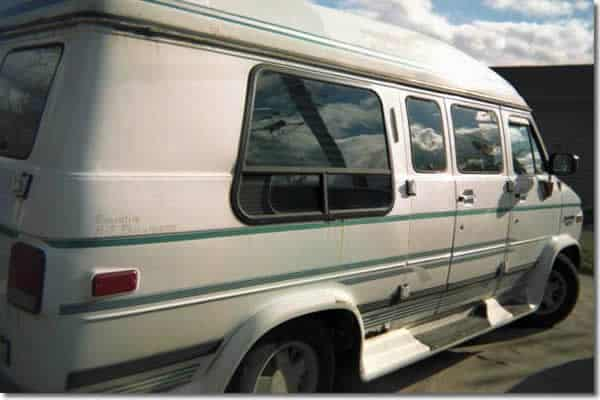 Chevy Conversion Van