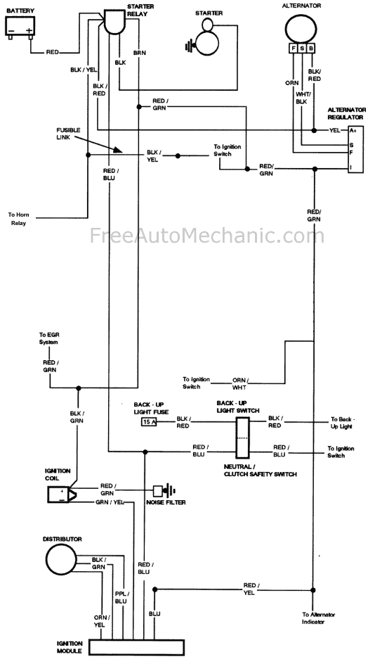 1976 ford f150 with no spark freeautomechanic rh freeautomechanic com Typical Ignition Switch Wiring Diagram Typical Ignition Switch Wiring Diagram