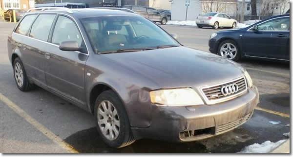 2001 Audi Wagon