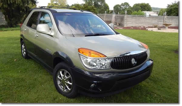 Windows Stopped Working 2003 Buick Rendezvous
