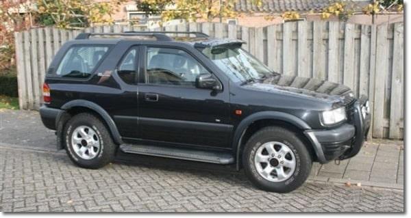 1999 Opel Frontera
