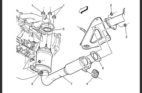 catalytic converter 2012 Chevy Equinox