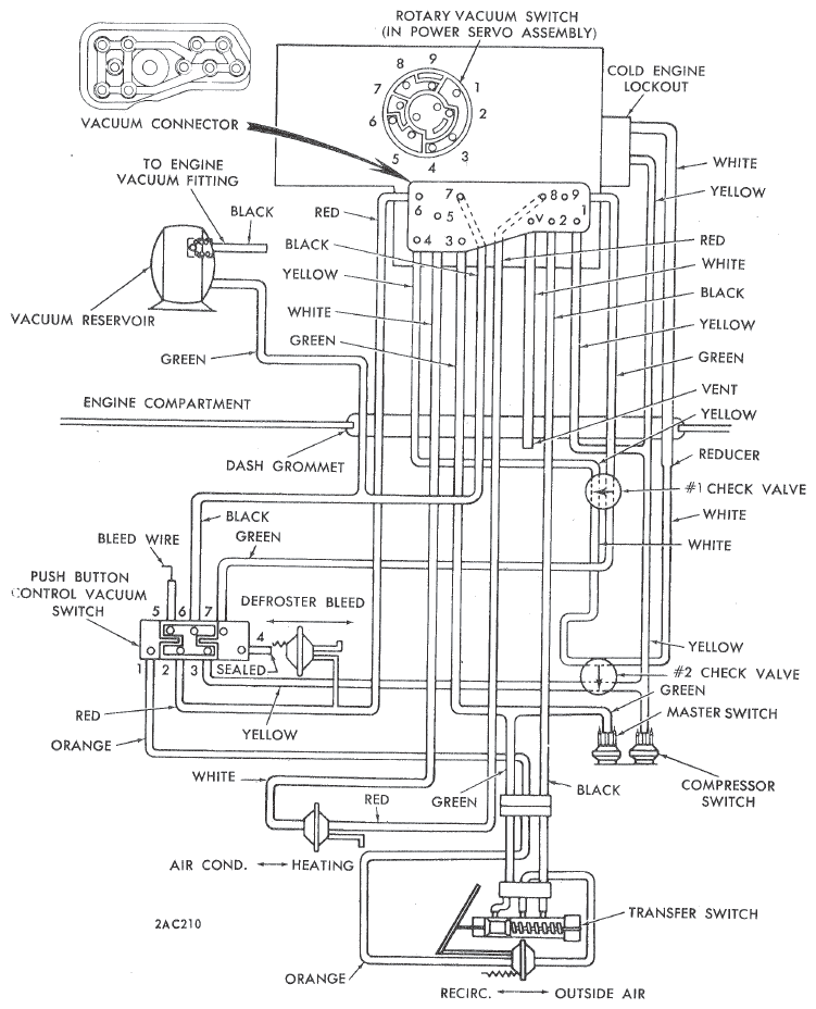 1973 Dodge Charger Vacuum Diagram