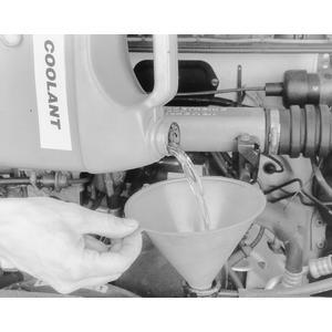 filling radiator on Suzuki Sidekick