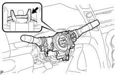 turn signal removal diagram 2008 Toyota Yaris