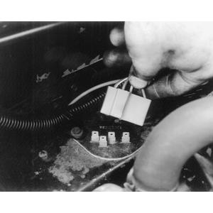 blower motor resistor electrical connector