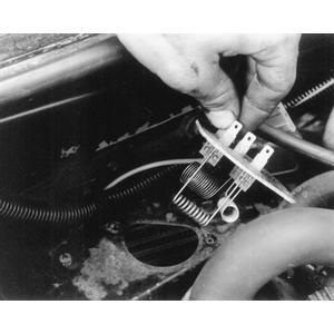 blower motor resistor 1986 Pontiac 6000