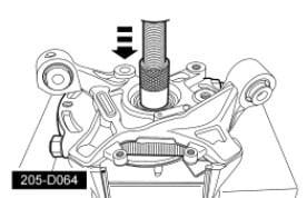 hub bearing press diagram