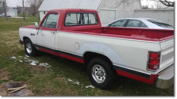 1986 Dodge Pick Up