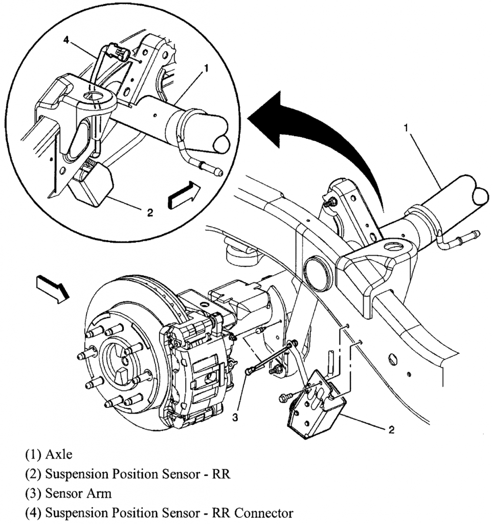2005-caddilac-escalade-suspension-electrical-connectors