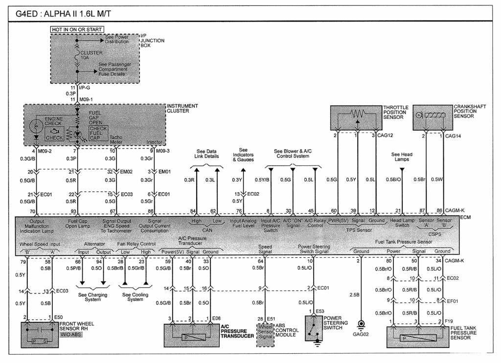 Camshaft Sensor Wiring Diagram from www.freeautomechanic.com