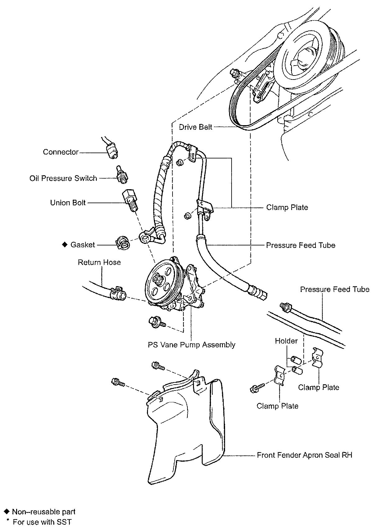2004-toyota-avalon-power-steering-pump-diagram