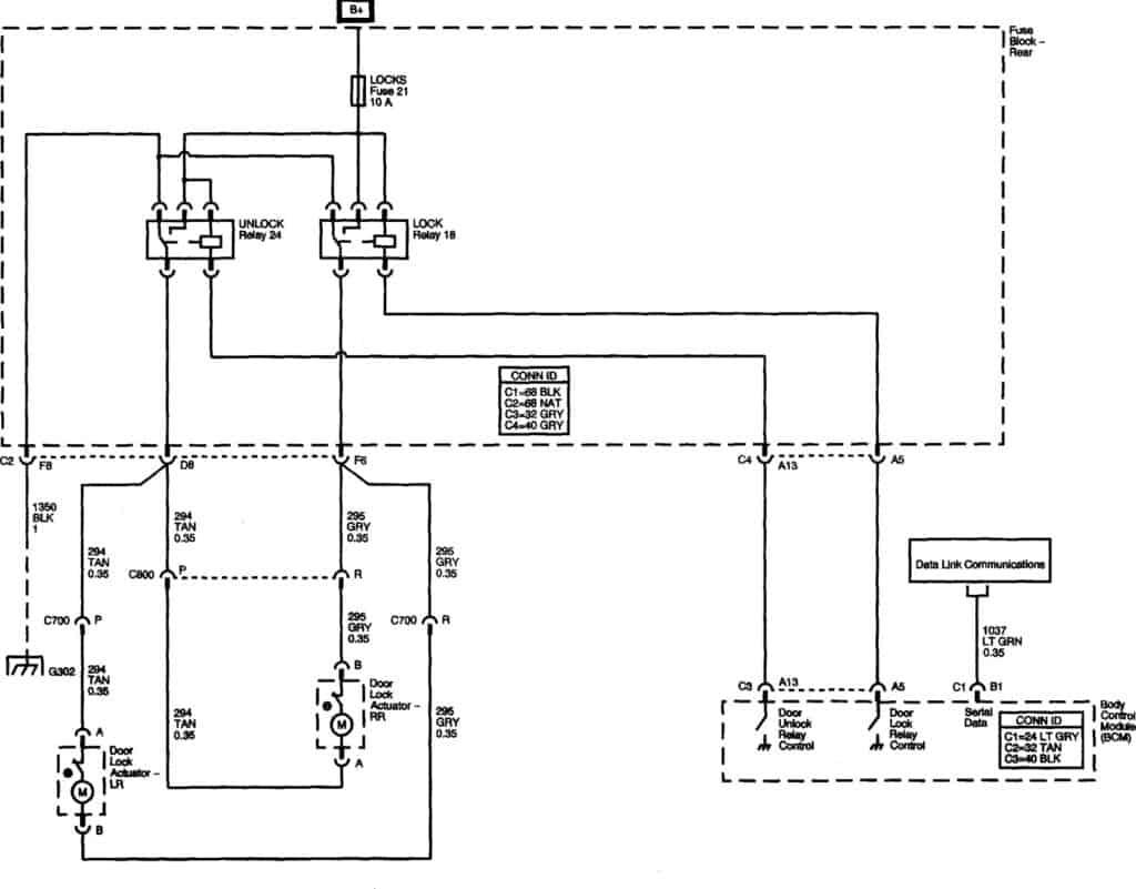 2003-gmc-envoy-power-lock-relays