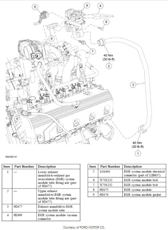 vacuum diagram 2006 ford e250 4.6l