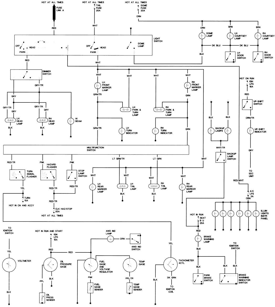 1985 jeep j10 wiring schematics